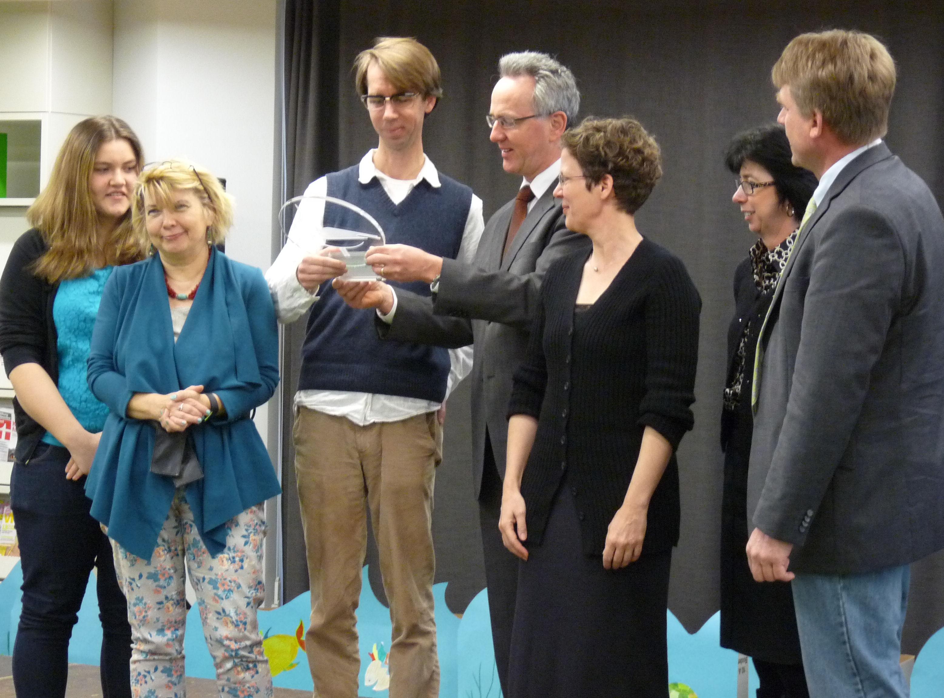 Kiebitz Preisverleihung 2014