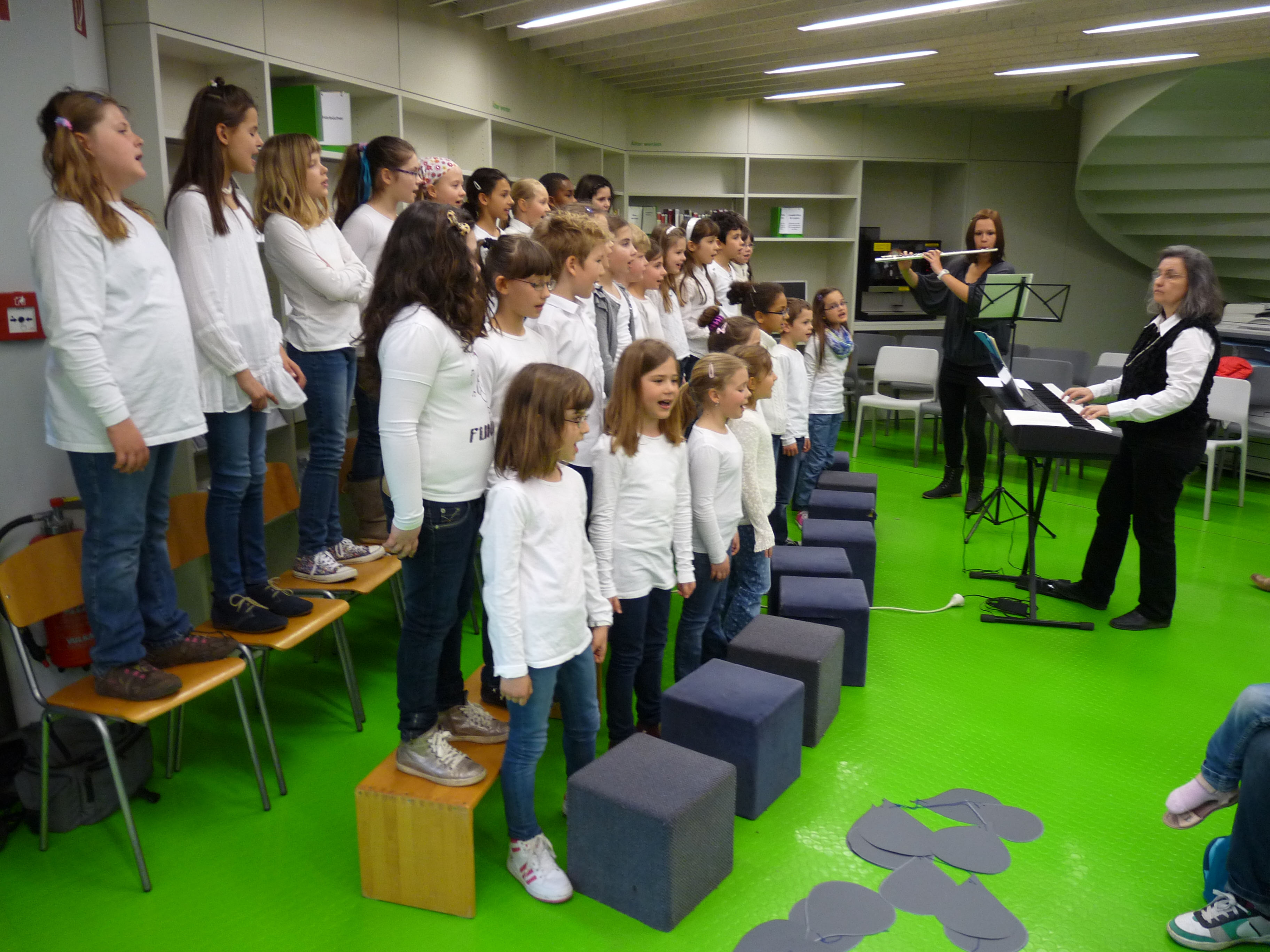 Der Chor der Rinnenäckerschule