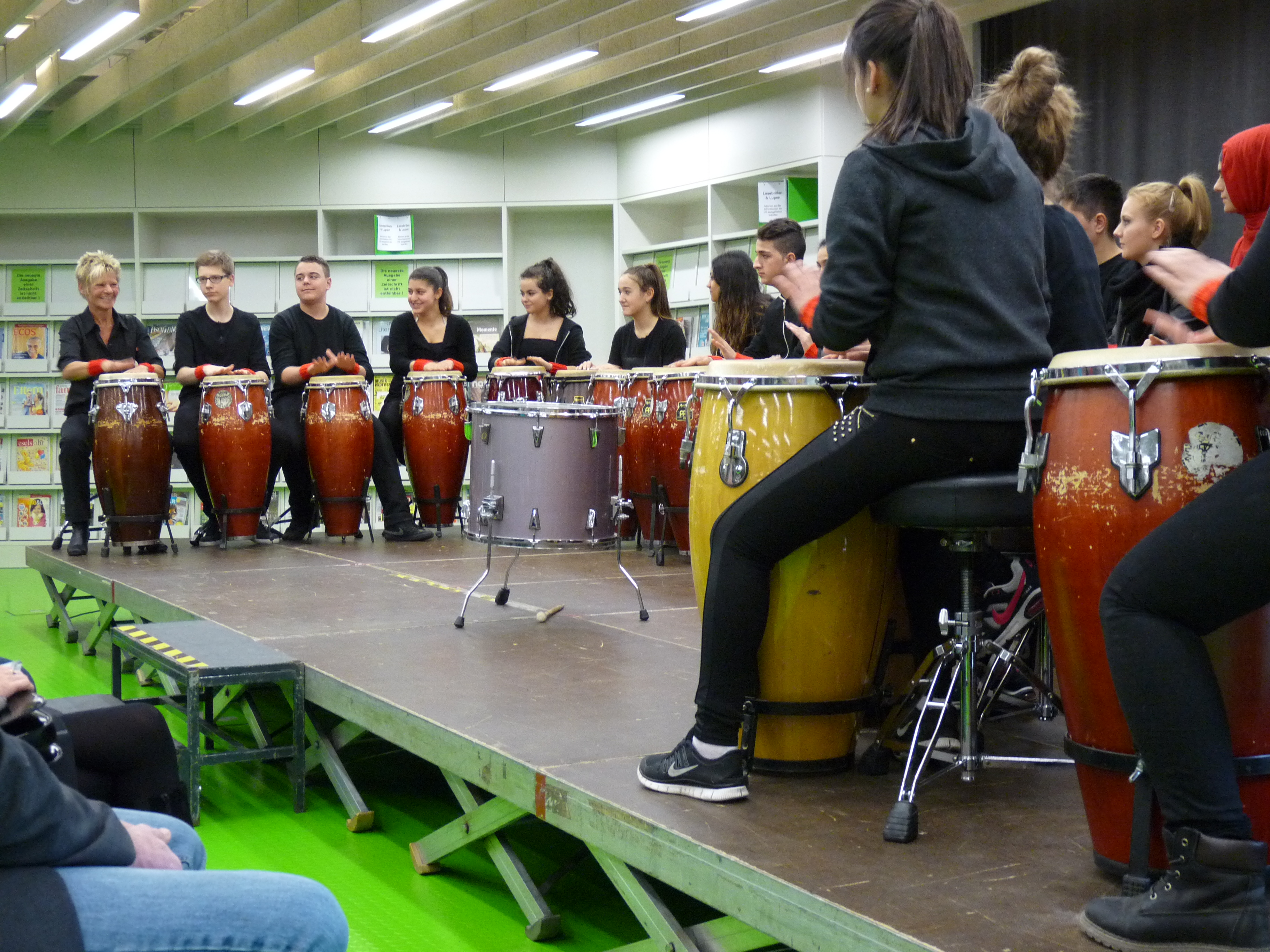 Das Salier Percussion Ensemble