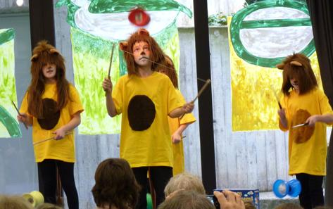 Zirkus-AG der Wolfgang-Zacher-Schule