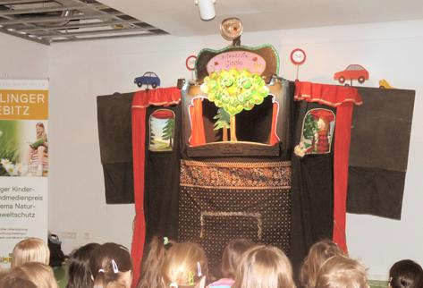 """Prinzessin-Gisela-Theater mit dem Umweltstück: """"Kasper im Geisterwald"""""""