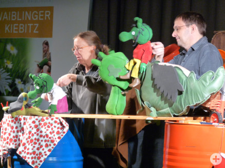 """Wodo Puppenspiel: """"Die Olchis: Wenn der Babysitter kommt"""""""