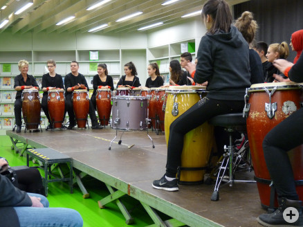 Das Salier Percussion Ensemble